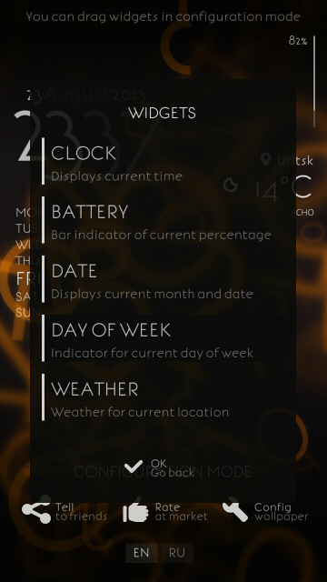 Alive Numbers 2 - widgets