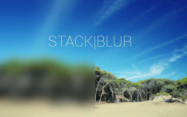 stackblursample