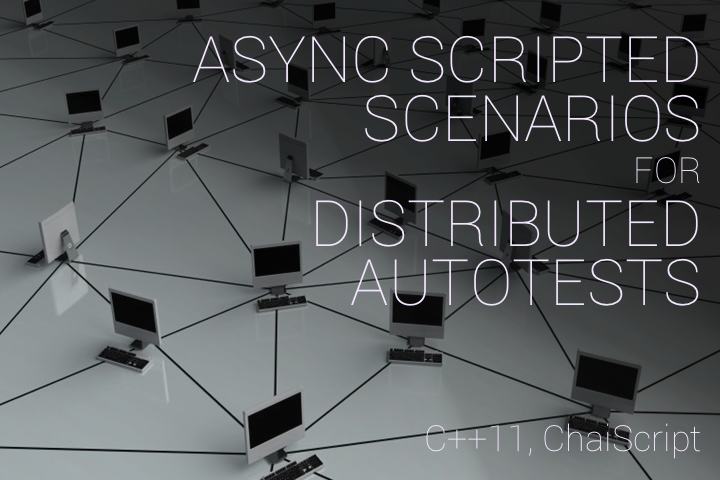 Async scenarions for distributed autotests